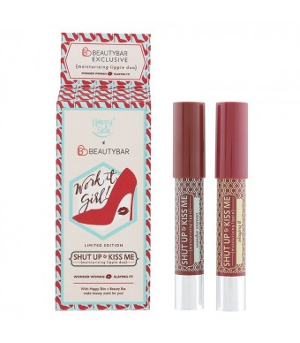 Work It, Girl! Shut Up & Kiss Me Moisturizing Moisturizing Lippie Duo