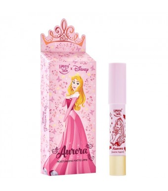 Happy Skin X Disney Princess Moisturizing Matte Lippie in Aurora
