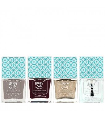 Express Gel Polish Trio In Influencer, Icon, And Superstar + Mirror Shine Top Coat