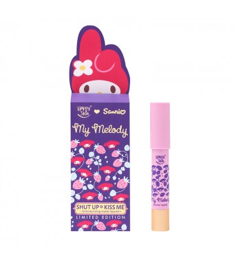 Happy Skin ♡ Sanrio Moisturizing Matte Lippie In Berry Good