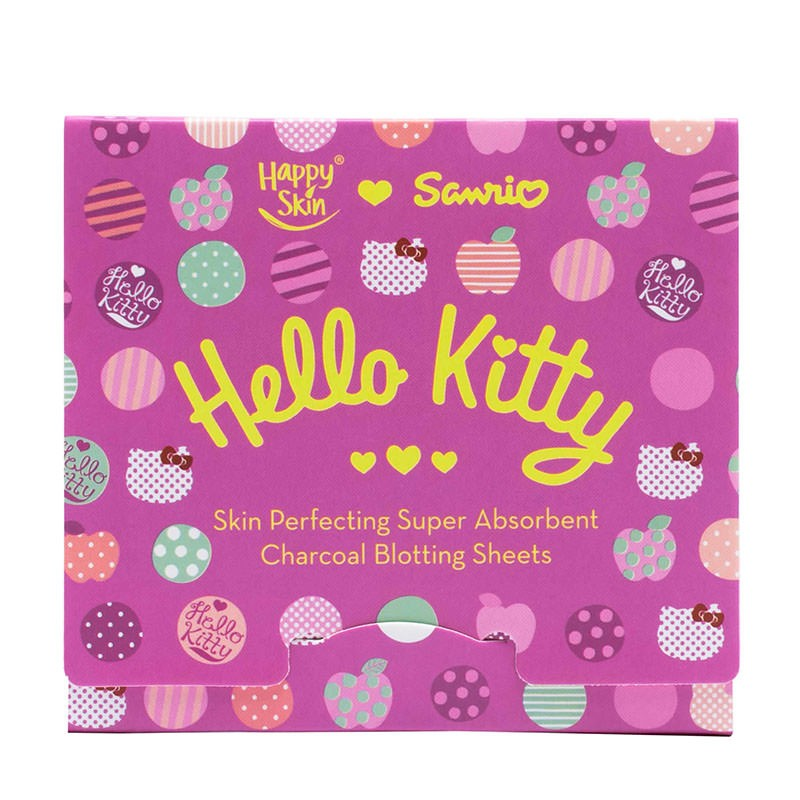 Happy Skin ♡ Sanrio Skin Perfecting Super Absorbent Charcoal Blotting Sheets