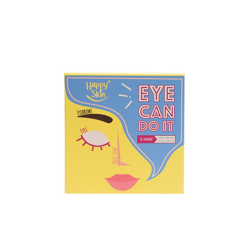 Eye Can Do It! Eyes, Brows, Nose Line Kit In Deep Taupe Soft Brown