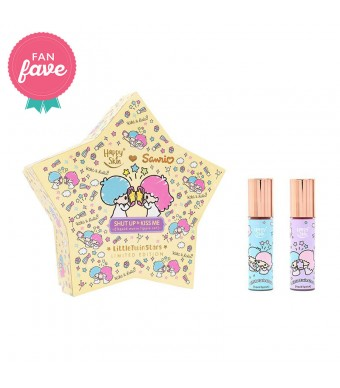 Happy Skin ♡ Sanrio Liquid Matte Lippie Set In Twinkle Twinkle & Star Wand
