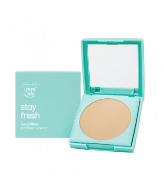 Stay Fresh Weightless Pressed Powder in Light Beige