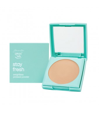 Stay Fresh Weightless Pressed Powder in Medium Beige