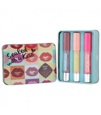 Sealed With A Kiss Lippie Tin Set (Set of 3)