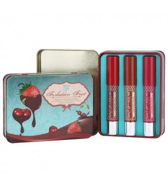 Forbidden Fruit Lippie Tin Set (Set of 3)