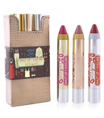 Shut Up & Kiss Me Moisturizing Lippie StyLIZed Leather Set