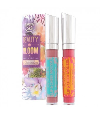 Beauty in Bloom Shut Up & Kiss Me Lip & Cheek Mousse Duo