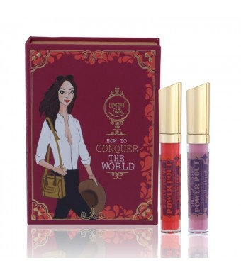 How to Conquer the World Moisturizing Lip Lacquer Set
