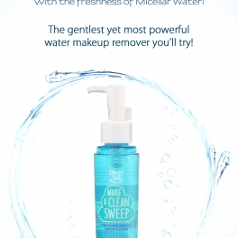 Take it off! The most effective makeup remover there is