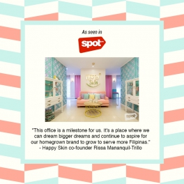 The Happy Skin HQ is one of Manila's coolest offices!