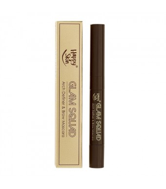 Happy Skin Glam Squad Arch Definer & Brow Mascara in Medium Brown