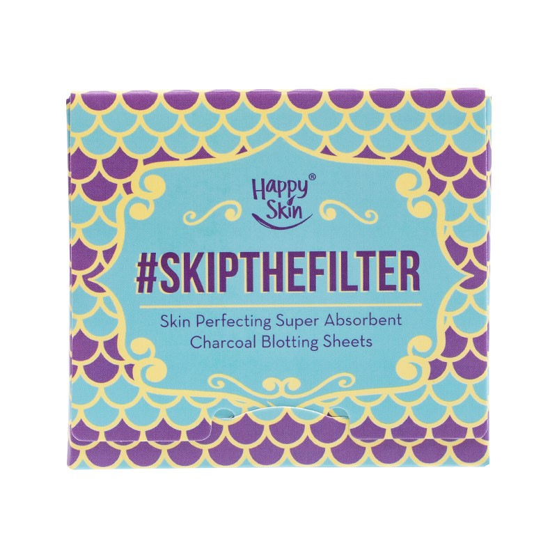 Skipthefilter Skin Perfecting Super Absorbent Charcoal Blotting Sheets