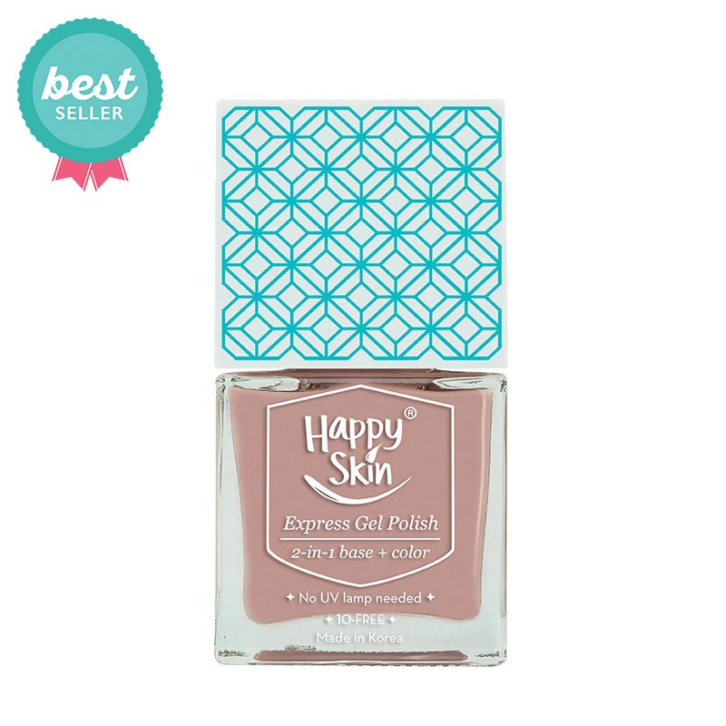 Express Gel Polish 2-in-1 Base + Color in Achiever (Soft Pink)