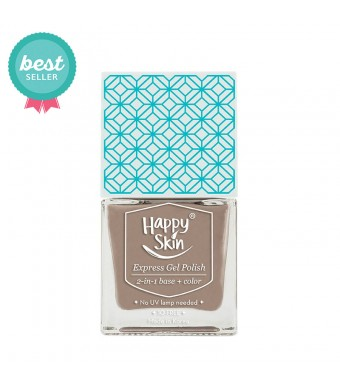 Express Gel Polish 2-in-1 Base + Color in Artist (Nude Khaki)