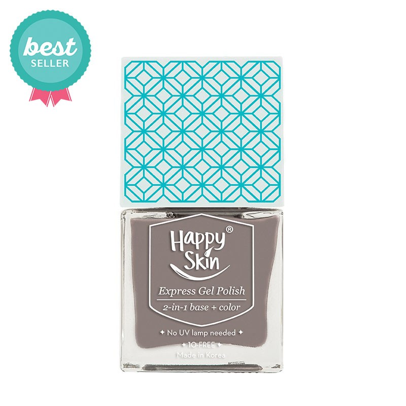Express Gel Polish 2-in-1 Base + Color in Influencer (Taupe)
