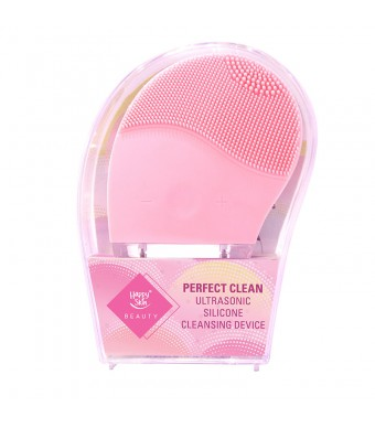 Happy Skin Beauty Perfect Clean Ultrasonic Silicone Cleansing Device