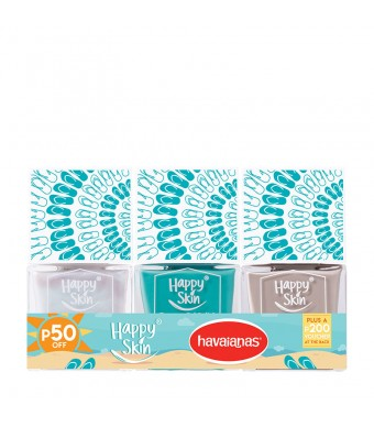 HappySkinLovesHavaianas Express Gel Polish Set