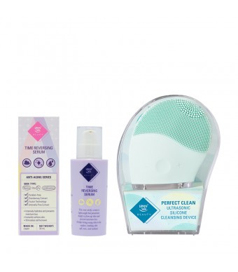 Time Reversing Serum + Silicone Cleansing Device