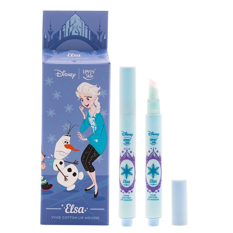 Happy Skin | Disney Vivid Cotton Lip Mousse - Elsa
