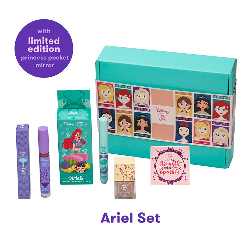 Happy Skin | Disney Exclusive Ariel Box Set