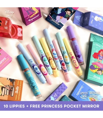 Happy Skin | Disney Limited Edition Full Lippie Set
