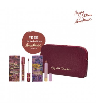 Happy Skin X Love Marie Matte Lippie & Lip Gloss Bundle