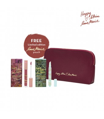 Happy Skin X Love Marie Cotton Mousse & Lip Gloss Bundle