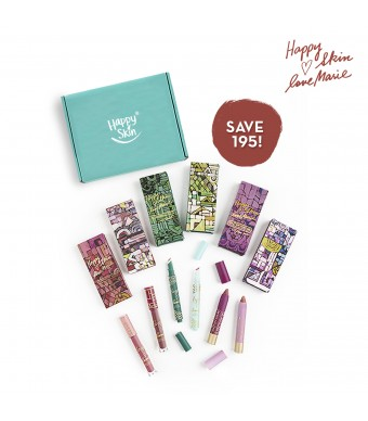 Happy Skin X Love Marie Limited Edition Complete Lippie Set
