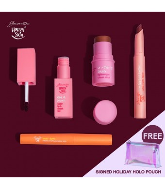 Generation Happy Skin Nude Peach Holiday Set
