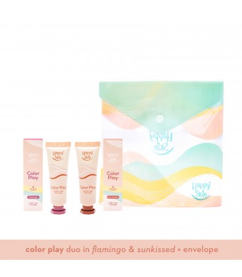 Happy Skin Color Play Duo - Sun-Kissed & Flamingo