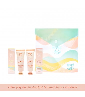 Happy Skin Color Play Duo - Peach Bum & Stardust