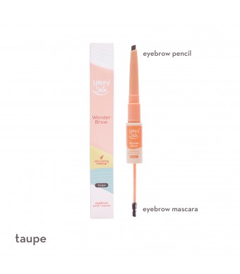 Happy Skin Wonder Brow Eyebrow Pencil + Mascara In Taupe