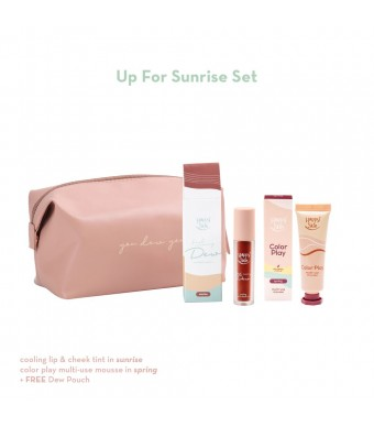 Happy Skin Dew Up For Sunrise Set (Tint + Mousse)