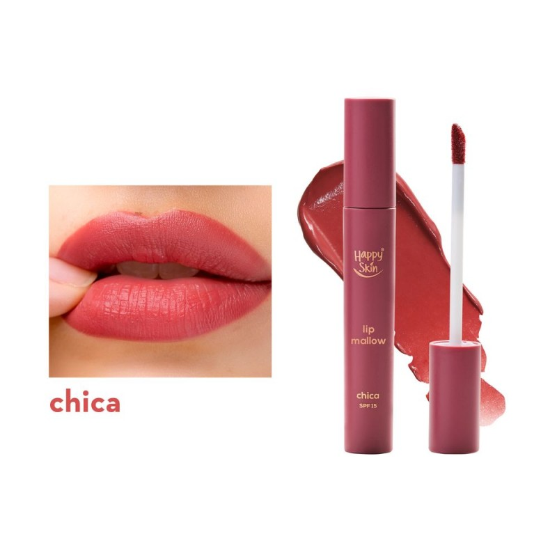 Happy Skin Lip Mallow Mousse In Chica
