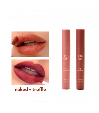 Happy Skin Lip Mallow Mousse Truffle + Naked Set