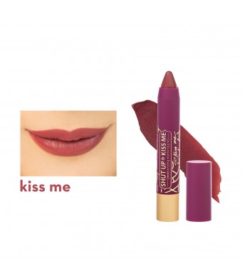 Happy Skin X Love Marie Shut Up & Kiss Me Moisturzing Matte Lippie