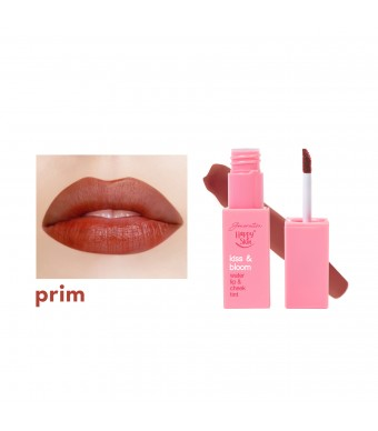Kiss & Bloom Water Lip & Cheek Tint in Prim
