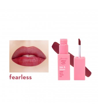 Kiss & Bloom Water Lip & Cheek Tint in Fearless