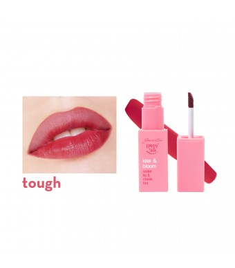 Kiss & Bloom Water Lip & Cheek Tint in Tough