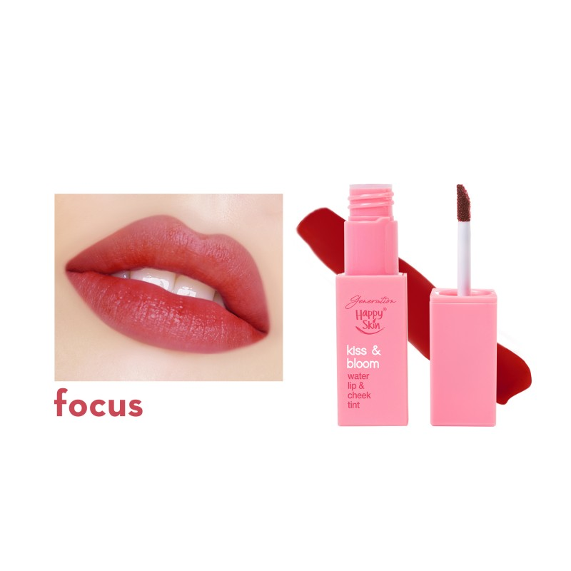 Kiss & Bloom Water Lip & Cheek Tint In Focus