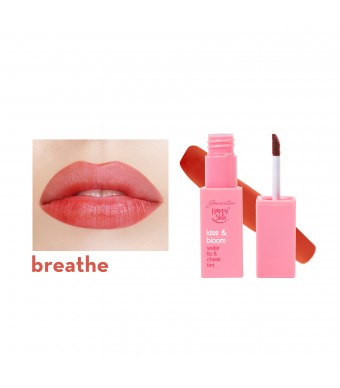 Kiss & Bloom Water Lip & Cheek Tint In Breathe