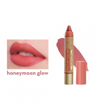 Shut Up & Kiss Me Moisturizing Matte Lippie in Honeymoon Glow