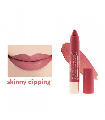 Happy Skin x Love Marie Shut Up & Kiss Me Moisturizing Matte Lippie