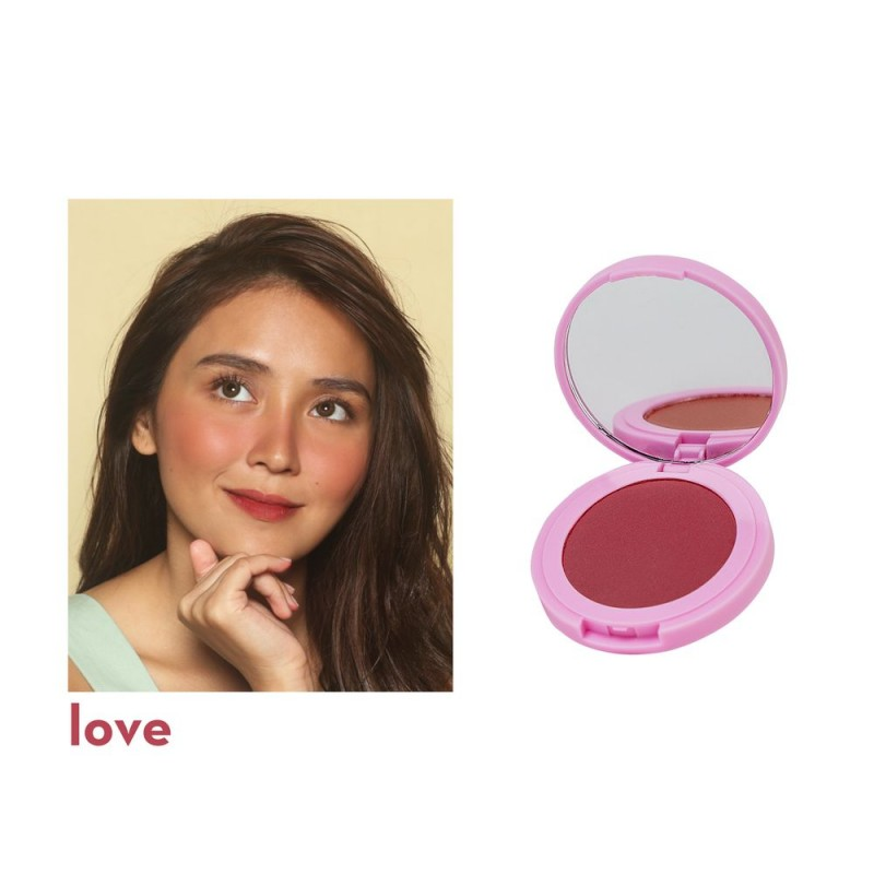 Instant Glow Longwear Powder Blush in Love