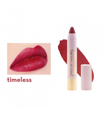 Shut Up & Kiss Me Moisturizing Matte Lippie - Timeless