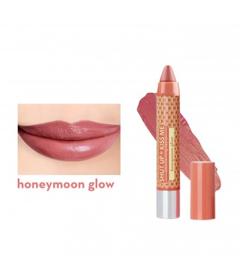 Shut Up & Kiss Me Moisturizing Lippie in Honeymoon Glow
