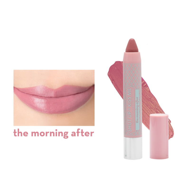 Shut Up & Kiss Me Moisturizing Lippie in The Morning After