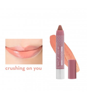 Shut Up & Kiss Me Moisturizing Lippie in Crushing On You